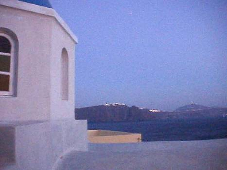 Santorini Island in Greece by Martha Ayotte