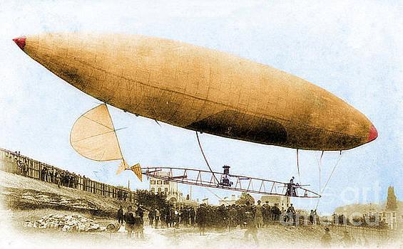 Science Source - Santos-Dumont No. 6 1901