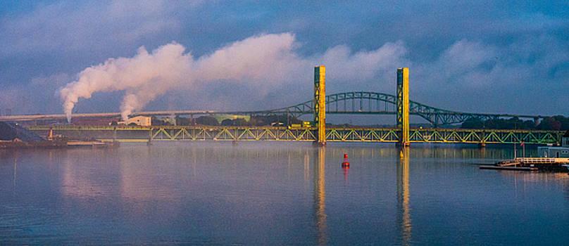 Sarah Long Bridge at Dawn by Thomas Lavoie