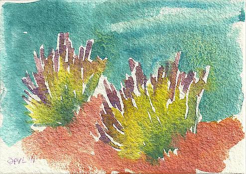 Sarris' Garden 5 by Pam Van Londen