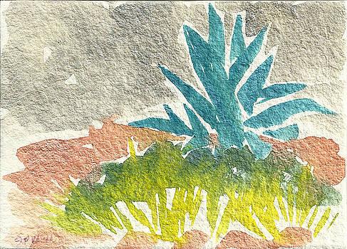 Sarris' Garden 6 by Pam Van Londen