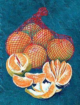 Satsumas by Elaine Hodges