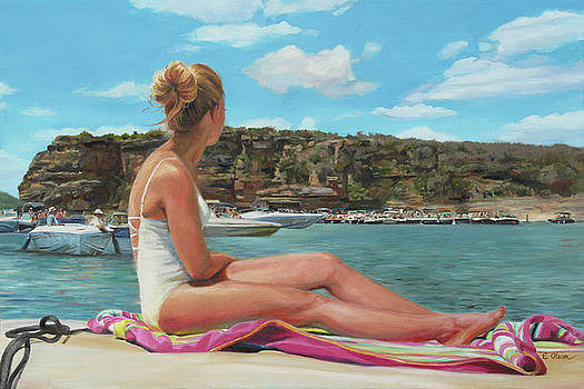 Saturday at the Lake by Emily Olson