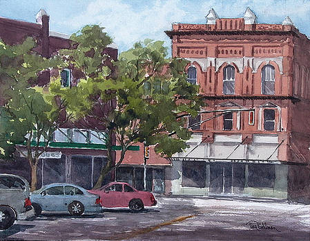 Saturday in Downtown Corsicana by Tina Bohlman