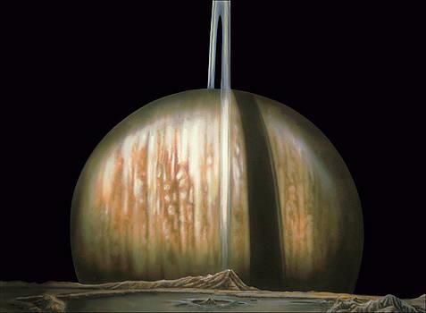 Saturn Rising by Wayne Pruse