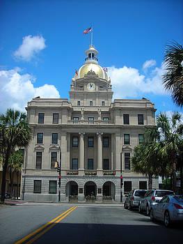 Savannah City Hall by Michael McKenzie