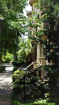 Savannah Historic District  by Paul Wilford