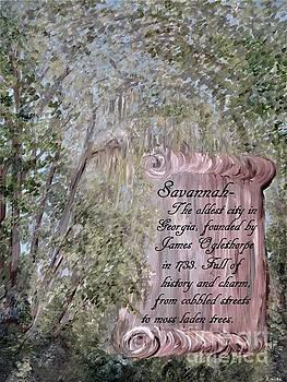 Savannah Scroll by Eloise Schneider