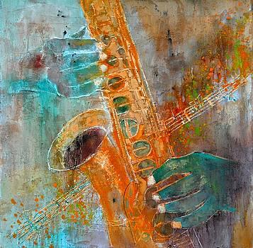 Saxophone by Pol Ledent