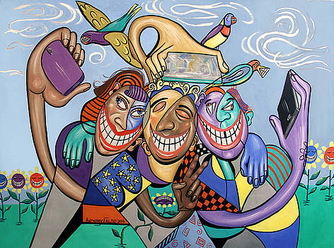 Say Cheese Selfie by Anthony Falbo
