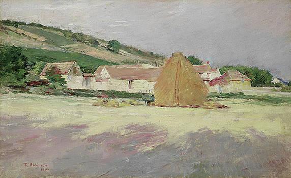 Theodore Robinson - Scene at Giverny, 1890