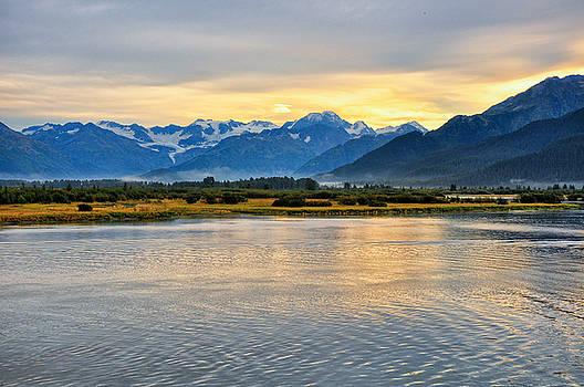 Scenes from Seward Highway by Rail - Alaska by Bruce Friedman