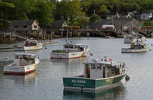 Juergen Roth - Scenic New Harbor Maine