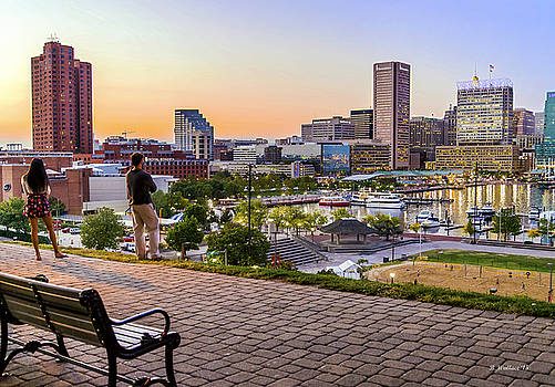 Scenic View From Federal Hill by Brian Wallace