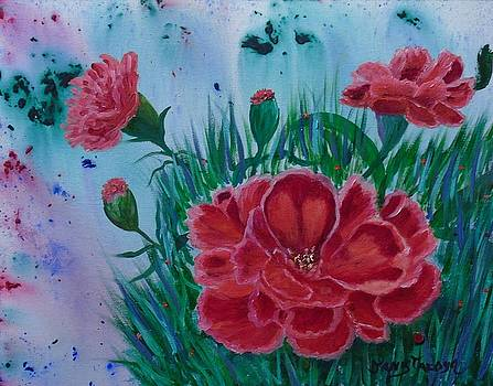 Scent of Carnations by Janis  Tafoya