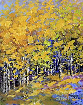 Scented Woods by Tatiana Iliina
