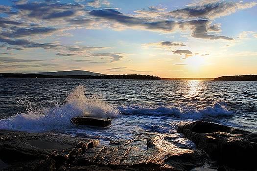 Schoodic Sunset by Scott  Bricker