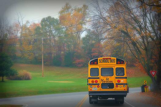 School Bus by Sheryl Bergman