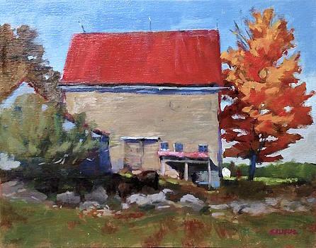 Schoolhouse Farm, Warren, Maine by Peter Salwen