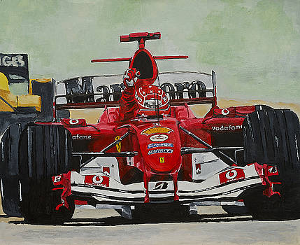 Schumacher Wins by Terry Gill