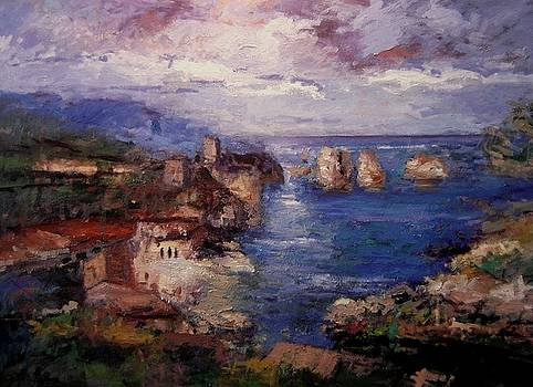 Scopello in Sicily IV by R W Goetting
