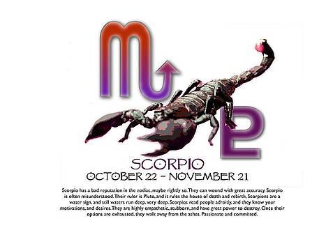 Scorpio Sun Sign by Shelley Overton