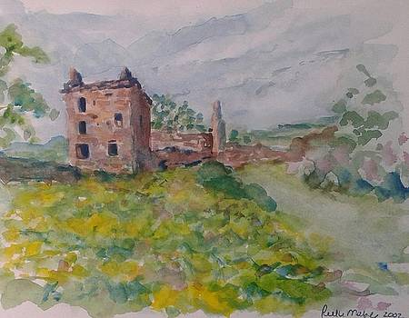 Scottish Ruins by Ruth Mabee