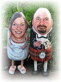 Scottish Wedding by Cathi Doherty