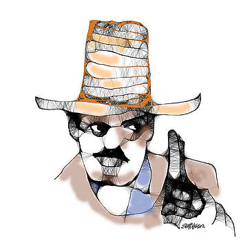 Scribbler Cowboy by Seth Weaver