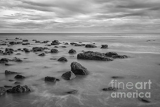 Sea and Rocks by Bahadir Yeniceri