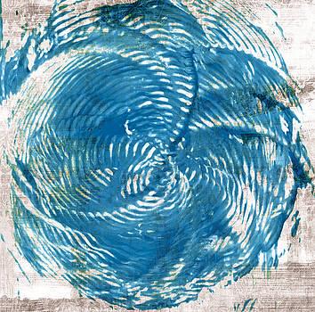 Frank Tschakert - Sea Blue Abstract