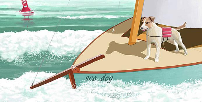 Sea Dog by Gary Giacomelli