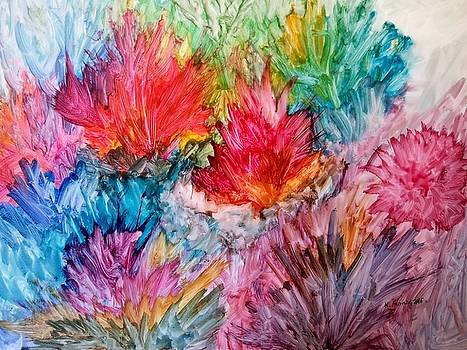 Sea Fans and Coral by B Kathleen Fannin