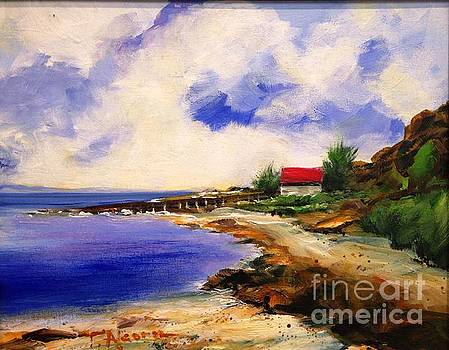 Sea Hill Pilot Station - original sold by Therese Alcorn