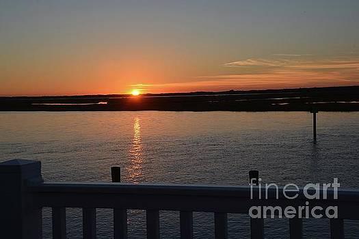 Sea Isle Sunset by Cindy Manero