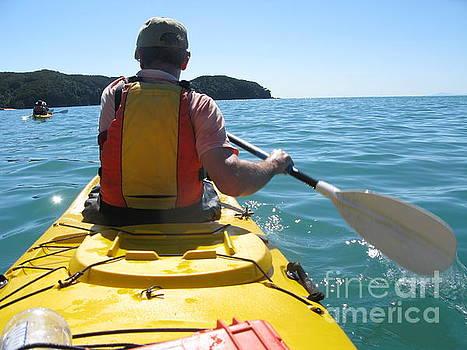 Patricia Hofmeester - Sea kayaking in New Zealand
