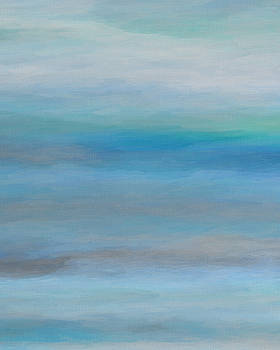 Ricki Mountain - Sea Mist III-Seascape Art