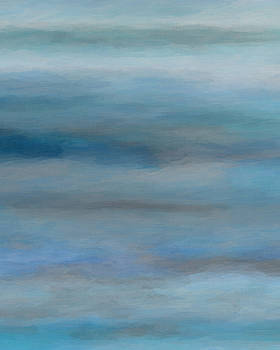 Ricki Mountain - Sea Mist II-Seascape Art