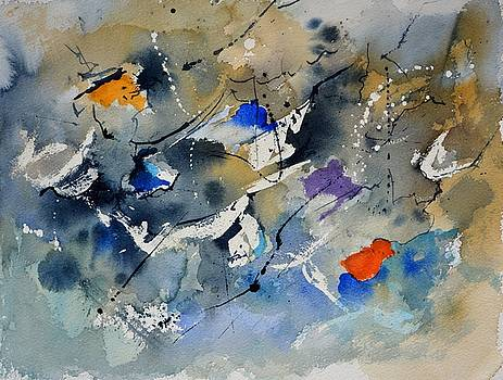 Sea of colours watercolor by Pol Ledent