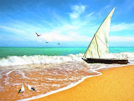 Sea Shore by Sandra Selle Rodriguez