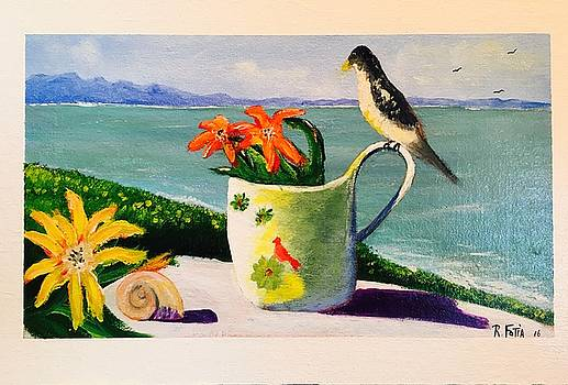 Sea Side Perch by Rich Fotia