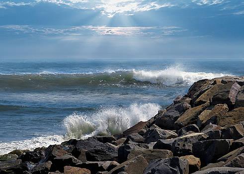 Nina Bradica - Sea Spray on the Rocks