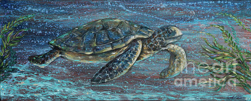 Sea Turtle Tutti by Linda Olsen
