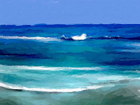 Sea waves by Anthony Fishburne