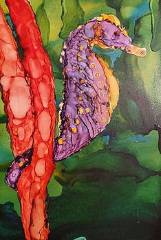 Seahorse Fantasy by Judy Mercer
