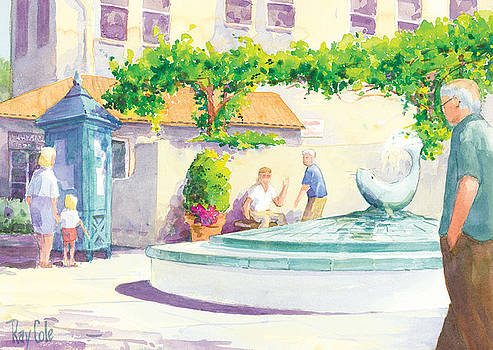 Seal Fountain by Ray Cole