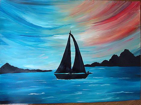Seascape by Saran A N