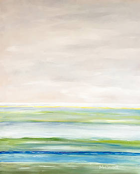 Seascape Abstract by Marion McCristall