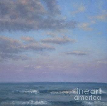 Seascape at Dusk by Hillary Scott