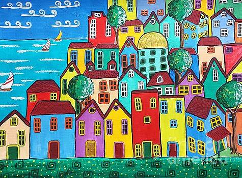 Seaside Community by Karleen Kareem